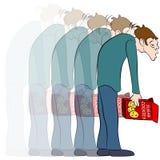 Sugar Crash ilustração stock