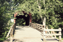 Sugar Creek Covered Bridge Stock Image