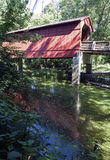 Sugar Creek Covered Bridge Royalty Free Stock Image
