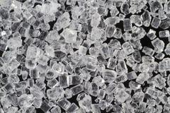 Sugar crystals Royalty Free Stock Images
