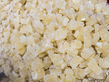 Sugar crystals Stock Image