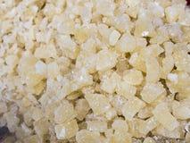 Sugar crystals Stock Image