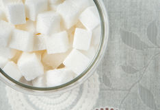 Sugar Cube Royalty-vrije Stock Afbeelding