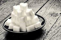 Sugar Cube Royalty-vrije Stock Afbeeldingen