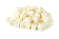 Sugar cube isolated on a white Stock Photo