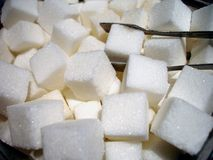 Sugar Cube Mania Royalty Free Stock Images