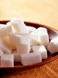 Sugar cubes. High resolution image Stock Photography