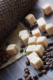 Sugar cubes stock photography