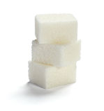 Sugar cubes Royalty Free Stock Photography