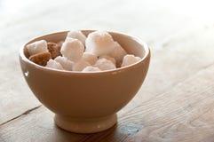 Sugar cubes Stock Image