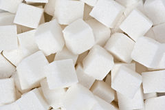 Sugar Cubes. Background texture of sugar cubes Stock Image