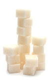 Sugar cubes Stock Image