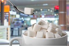 Sugar Cubes Arkivbilder