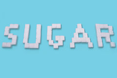 Sugar Cubes Fotos de archivo