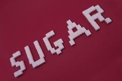 Sugar Cubes Imagenes de archivo