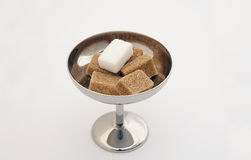 Sugar cubes Royalty Free Stock Image