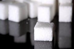Sugar cubes B Royalty Free Stock Image