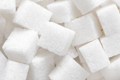 Sugar cubes background Royalty Free Stock Image