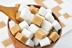 sugar cubes Royalty Free Stock Photos