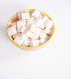 Sugar cubes - path Stock Photos