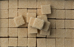 Sugar cubes. Photo background of Sugar cubes Stock Images