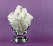 Sugar Cubes Stock Photo