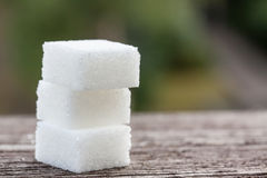 Sugar cubes Royalty Free Stock Photo