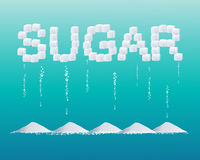 Sugar design Stock Photo