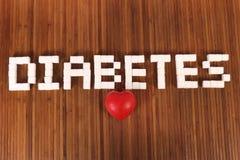Sugar and diabetes stock photography