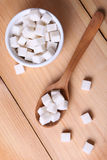 Sugar in dish Stock Photos