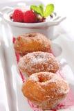 Sugar donuts Stock Image