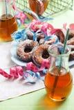 Sugar Donuts Fotos de Stock Royalty Free