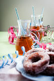 Sugar donuts Royalty Free Stock Photo