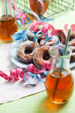 Sugar donuts Royalty Free Stock Photos