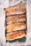 Sugar Doughnuts Stock Images