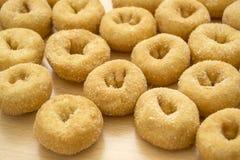 Sugar doughnuts Stock Photos