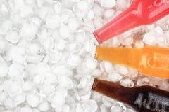 Sugar drinks on ice Royalty Free Stock Photos