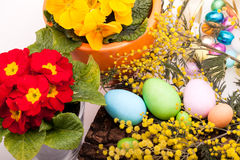 Sugar Easter Eggs Stock Photography
