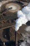 Sugar factory aerial Stock Images