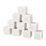 Sugar, a few pieces Royalty Free Stock Photos