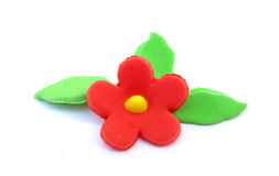 Sugar flower cake decoration Stock Photography