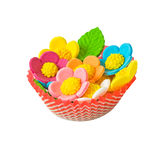 Sugar flowers Royalty Free Stock Images