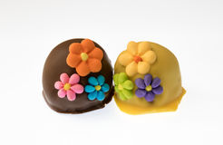 Sugar Flowers Stock Image