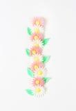Sugar flowers Stock Photos