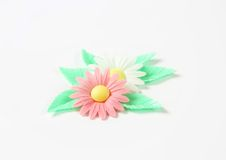 Sugar flowers Stock Images