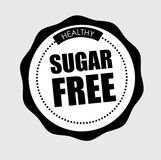 Sugar free design Stock Photo