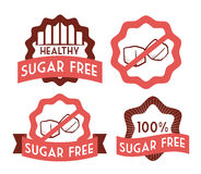 Sugar free design Royalty Free Stock Photo