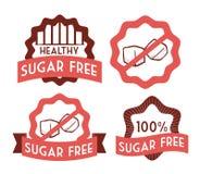 Sugar free design. Sugar free over white background, vector illustration Royalty Free Stock Photo