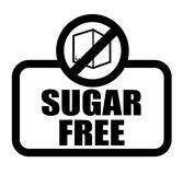 Sugar free design Royalty Free Stock Images