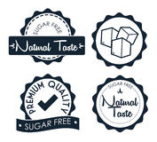 Sugar free design Royalty Free Stock Photos